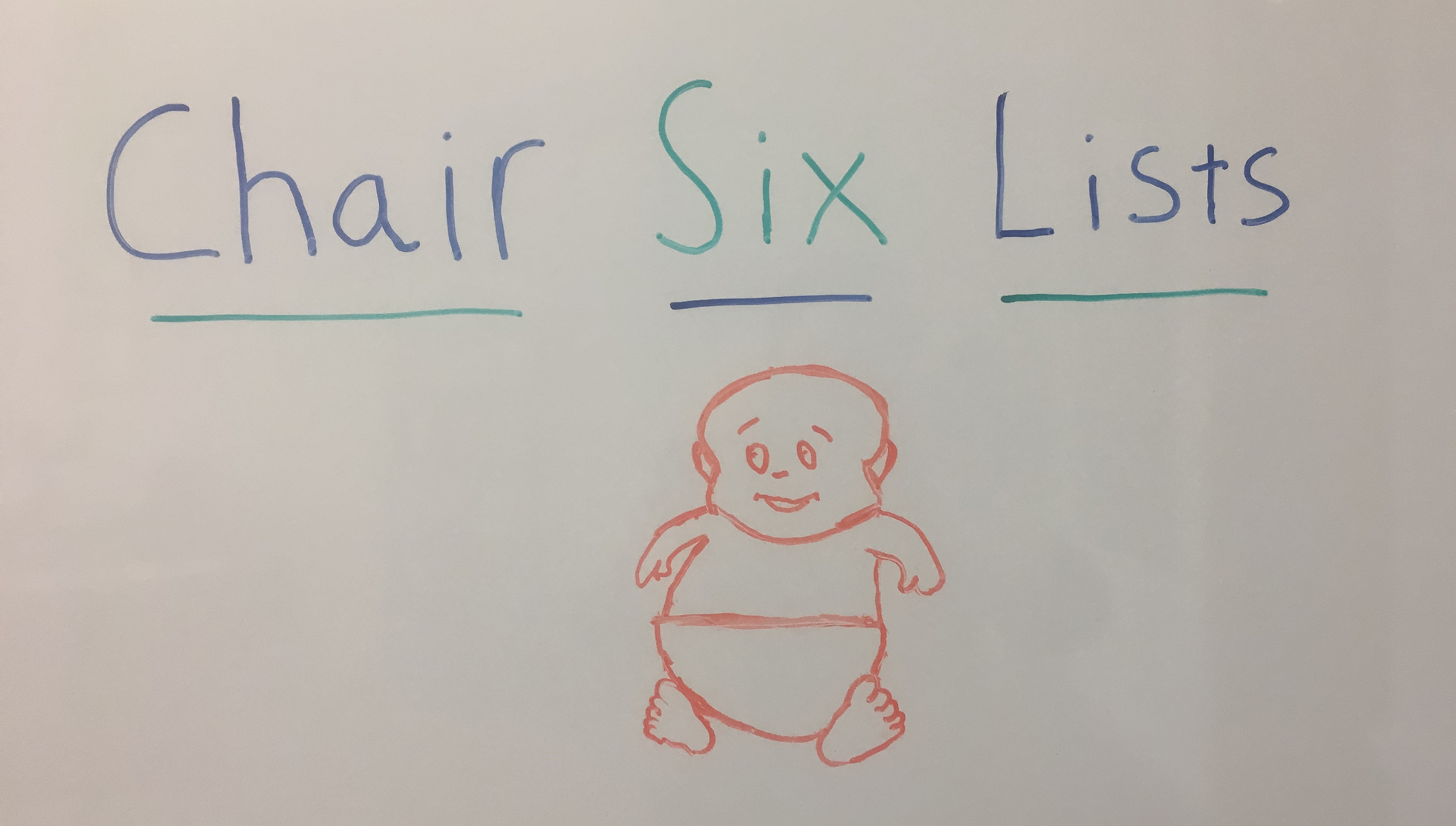 pic of baby drawn on whiteboard