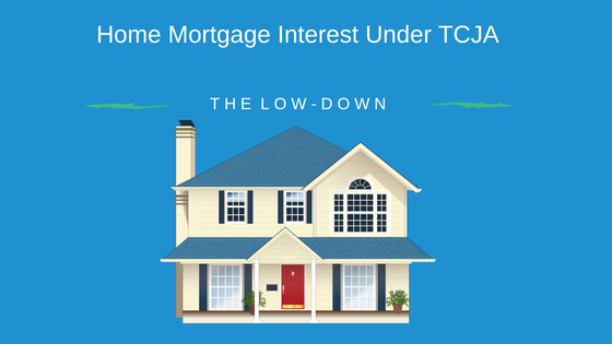 Home Mortgage Under TCJA